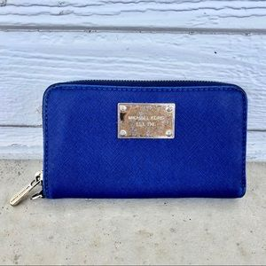 Michael Kors Blue Wallet